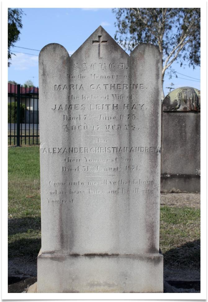 Maria Catherine Marker